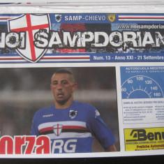 Sampdoria - Chievo - (21 septembrie 2008), program de meci - Program meci