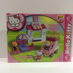 Joc tip Lego HELLO KITTy 43 piese - Set de constructie