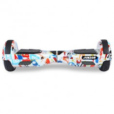 Scooter Electric Freewheel Junior Graffiti Alb - Hoverboard