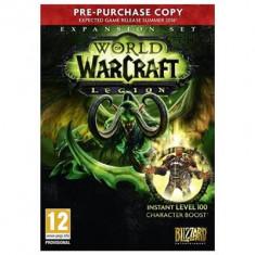 World Of Warcraft Legion Pc - Joc PC Blizzard, Role playing, 16+