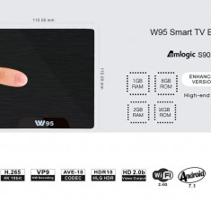 Smart TV box android 7.1 W95 - Media player