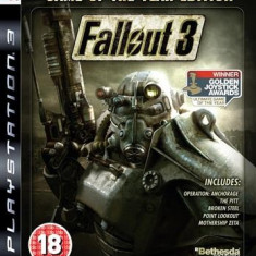 Fallout 3 Game Of The Year Edition Ps3 - Jocuri PS3, Actiune, 18+
