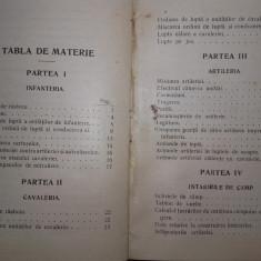 TACTICA DE LUPTA A INFANTERIEI, CAVALERIEI SI ARTILERIEI BULGARE, 1913 - Carte Istorie