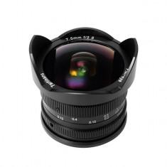 Obiectiv manual 7Artisans 7.5mm F2.8 pentru Sony E-mount - Obiectiv DSLR