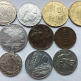 Italia-lot 10 monede diferite-2, Europa
