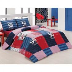 Lenjerie De Pat Copii Bumbac Ranforce - ACADEMY - Lenjerie pat copii, Alte dimensiuni