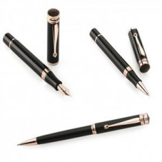 Set Stilou, Roller si Pix Rose Gold Ducale - by Montegrappa