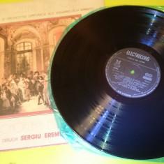 Vinil disc cor opera Orchestra Simfonica Ansamblul Armatei dirijor Sergiu Eremia - Muzica Opera electrecord