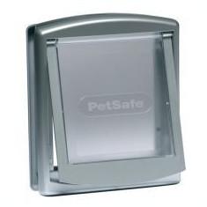 Uși Original pentru câini și pisici - mărime mică, argintie - Cusca, cotet, tarc si colivie