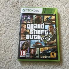 JOC XBOX 360 GTA 5 GTA V la carcasa in stare perfecta de functionare! - GTA 5 Xbox 360 Rockstar Games