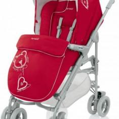 Carucior 3 in 1 Millestrade Esprit 233 (Rosu) Brevi - Carucior copii 3 in 1