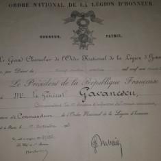 Lot brevete acordate unui general roman
