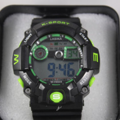 Ceas Sport stil G-Shock Water Resistant Cronometru - Ceas barbatesc Geneva, Fashion, Quartz, Otel, Analog