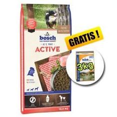 Bosch ACTIVE 15 kg + Poultry and Millet 3 kg GRATUIT - Hrana caine