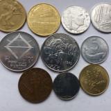 Italia-lot 10 monede diferite-1, Europa