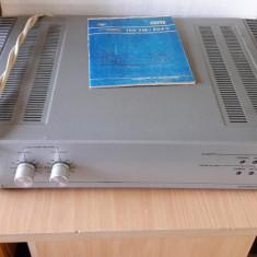 Amplificator bloc putere rusesc Lorta 150W reali 280varf transformator toroidal - Amplificator audio Akai