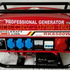 Generator Curent Electric-ROYAL KRAFT-220/380V-PORNIRE LA CHEIE-3 KW, Generatoare uz general