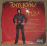 vinyl/vinil Tom Jones - Sings She's A Lady,England 1971,cop imperfecta/disc VG