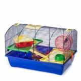 Cuşcă hamster VICTOR II PLUS echipată, Cusca