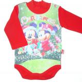 Body vatuit model cu Craciun si Micky Mouse BD161, Marime: 9-12 luni