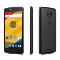 Smartphone Motorola Moto C Plus, Dual Sim, 5 Inch, Quad Core, 1 GB RAM, 16 GB, 4000 mAh, Retea 4G LTE, Android Nougat, Negru - Telefon Motorola