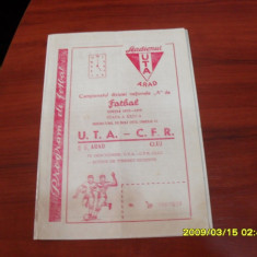 Program UTA - CFR Cluj - Program meci