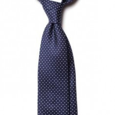 Cravata Matase Naturala Macclesfield Seven Fold - hand made