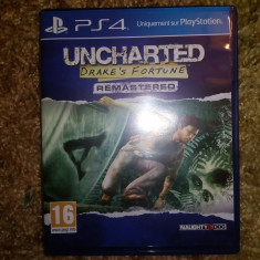 Uncharted Drake's Fortune Remasterd Ps4 - Assassins Creed 4 PS4 Ubisoft