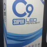 KIT SUPER LED C9 H7, 6500lm, 6000k, 36w