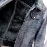 Jachetă cu blană artificială