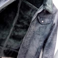 Jachetă cu blană artificială - Geaca dama, Marime: S, Culoare: Din imagine