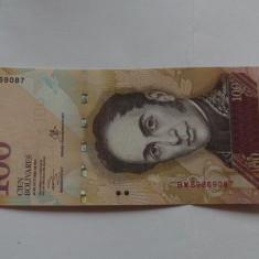 Venezuela 100 bolivari