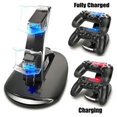 Incarcator iluminat controllere Playstation 4 PS4