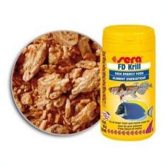 Hrană pentru pești, Sera FD Krill 250 ml - Hrana peste si reptila