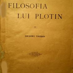 FILOSOFIA LUI PLOTIN, Bucuresti, 1923