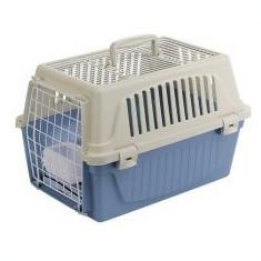 Cușcă de transport Ferplast ATLAS 10 OPEN pentru pisici și câini, cu perniță inclusă - Geanta si cusca transport animal