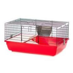 Cușcă iepuri și porcușori de guinea - SUPER RABBIT 60 COLOR - Cusca, cotet, tarc si colivie