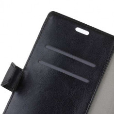 Husa Flip cu Stand Huawei Mate 10 Pro Neagra - Husa Telefon