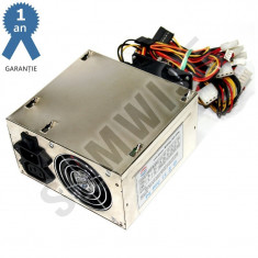 Sursa MS-Tech 500W MP-500, 2 x SATA, 6 x Molex, PCI-Express, 2 x Vent 80mm