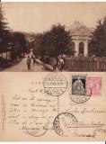 Campulung Muscel (Arges)-Strada Justitiei.Tribunalul - rara, Circulata, Printata