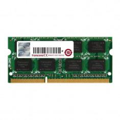 Memorie laptop Transcend 8GB DDR3 1600 MHz CL11 2Rx8 - Memorie RAM laptop