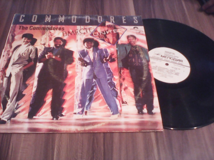 VINIL COMMODORES-UNITED DISC MELODIA  STARE FB