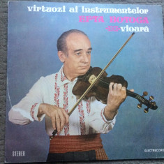 Efta botoca virtuozi ai instrumentelor vioara disc vinyl muzica populara banat, VINIL, electrecord