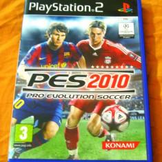 Joc Pro Evolution Soccer, PES 2010, PS2, original, alte sute de jocuri! - Jocuri PS2, Sporturi, 3+, Multiplayer