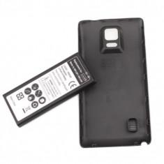Baterie extinsa 6800 mAh Samsung Galaxy Note 4 N910 + capac spate negru