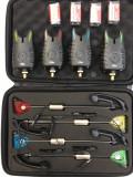 SET 4 AVERTIZORI FL 4 Swinger cu led MKM3 black edition cu geanta de transport !