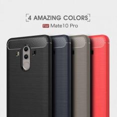 Husa Huawei Mate 10 Pro Neagra - Husa Telefon, Gel TPU, Carcasa