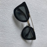 Ochelari de Soare Prada SPR09QS Negri Black Dama Grey Lens ! Poze Reale !