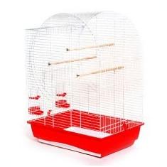 Colivie papagali cage ELISABETH - 54 x 38 x 74 cm - Cusca, cotet, tarc si colivie