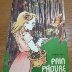 PRIN PADURE - DUMITRU RISTEA - CARTE DE COLORAT - 1989